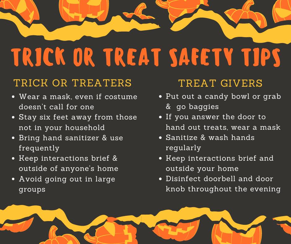 Halloween 2020 Safety Tips Halloween Safety Tips (3) | Borough of Dormont